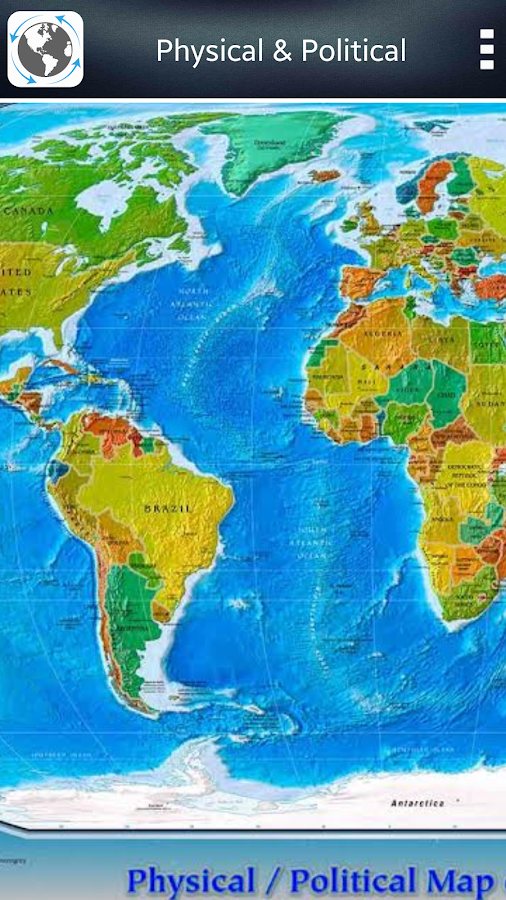 World Map Atlas Android Apps On Google Play - World map photo for us