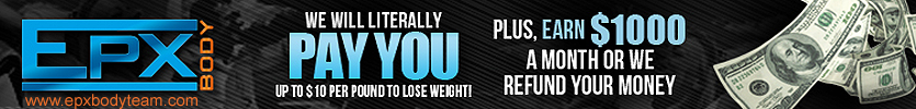 Photo: EPX Body Free Team Banner - Earn $10 per pound to lose weight