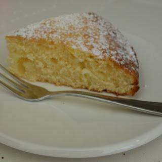 Today's Cake – Italian Lemon Ricotta Cake.