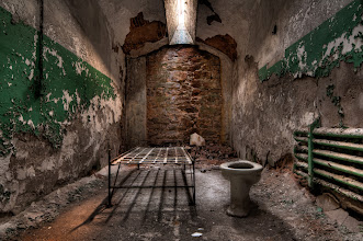 Photo: Cot with Toilet