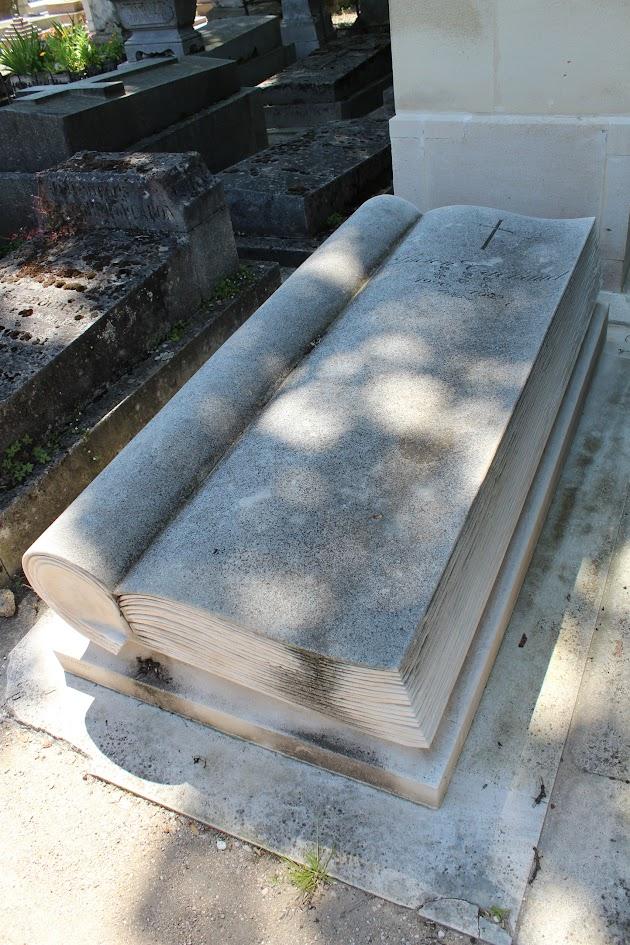 ALLAN KARDEC EM PARIS » Cemitério do Père-Lachaise