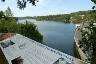 Photo: Belvédère du barrage de Saint Etienne Cantalès