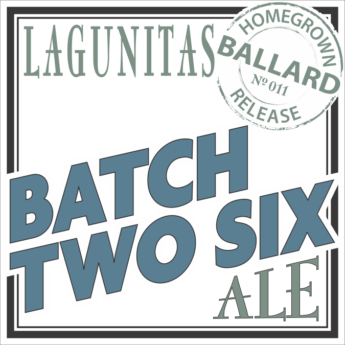 Logo of Lagunitas Batch Two Six