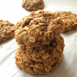 Chocolate Chip Oatmeal Cookies.