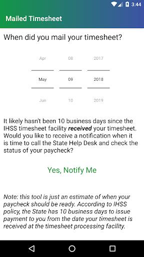 IHSS Help screenshot 2