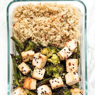 Meal Prep Sesame Tofu Quinoa Bowls Recipe