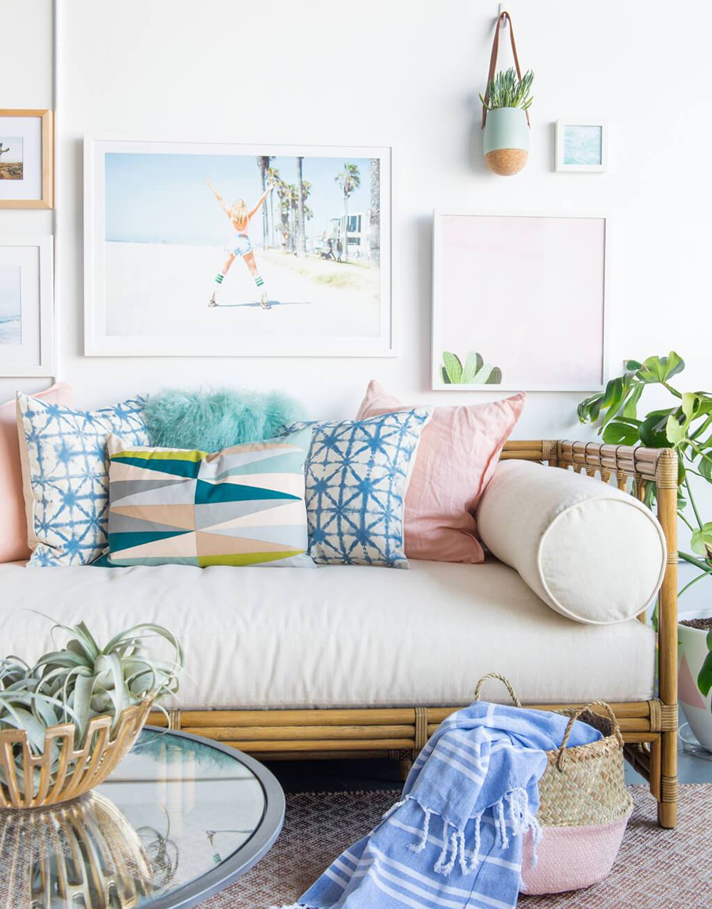 12 mẫu thiết kế phòng khách đơn giản mang phong cách thôn quê