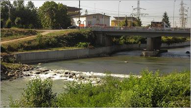 Photo: Turda - Str. Stefan cel Mare la intersectie cu Piata Romana - Podul Mare din Beton