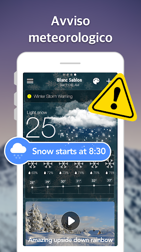 Previsioni meteo e widget e radar screenshot 8