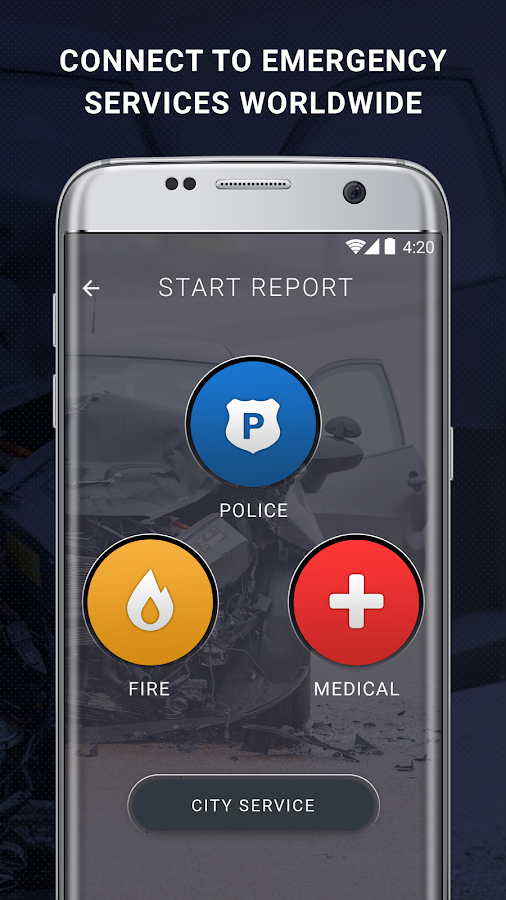 Reporty - Your Safety App- screenshot