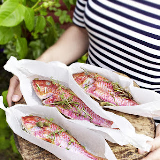 Grilled Red Mullet.