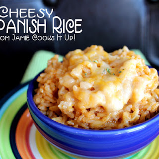 Cheesy Spanish Rice