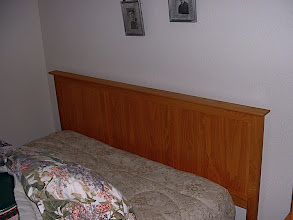 Photo: Headboard - White Oak