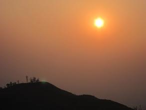 Photo: Waiting for sunset near Bhattara Mane. Awesome
