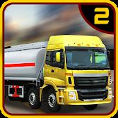 Oil Tanker Transporter Truck 2
