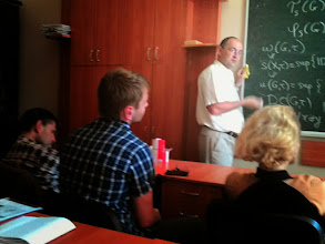 Photo: June 17, 2015 T. Banakh Cardinal invariants distinguishing permutation groups