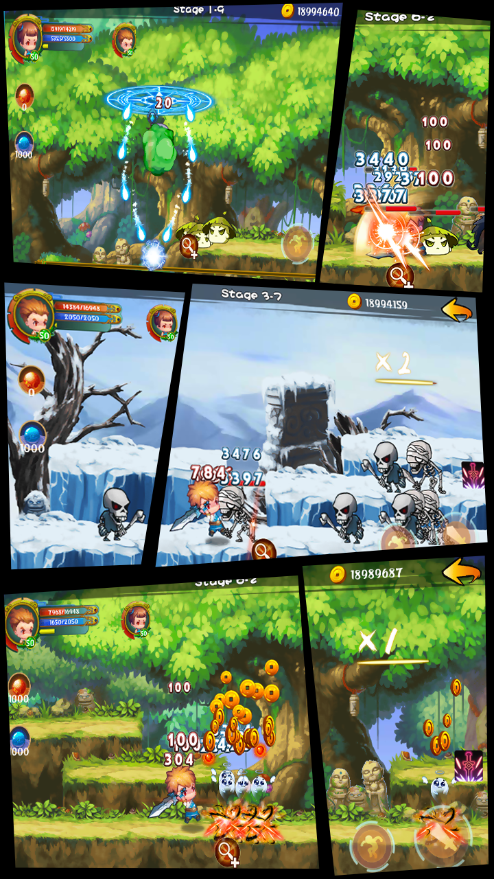 Soul Warriors \342\200\223  RPG Adventure Screenshot 3