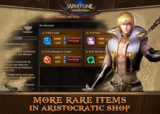 Wartune: Hall of Heroes 7.3.1 screenshots 14