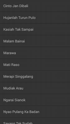 Lagu Minang Exclusive - screenshot