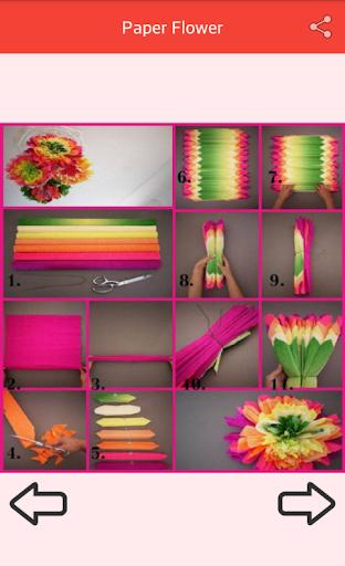 Paper Flower Craft Screenshot