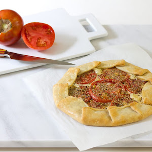 Tomato, Goat Cheese and Rosemary Tart