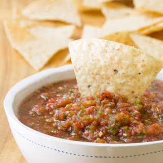 The Best Homemade Salsa.