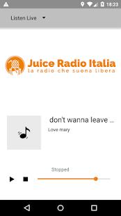 Juice Radio Italia - náhled