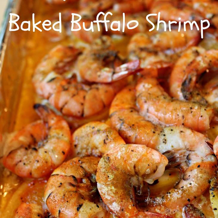 Baked Buffalo Shrimp Recipe | Yummly