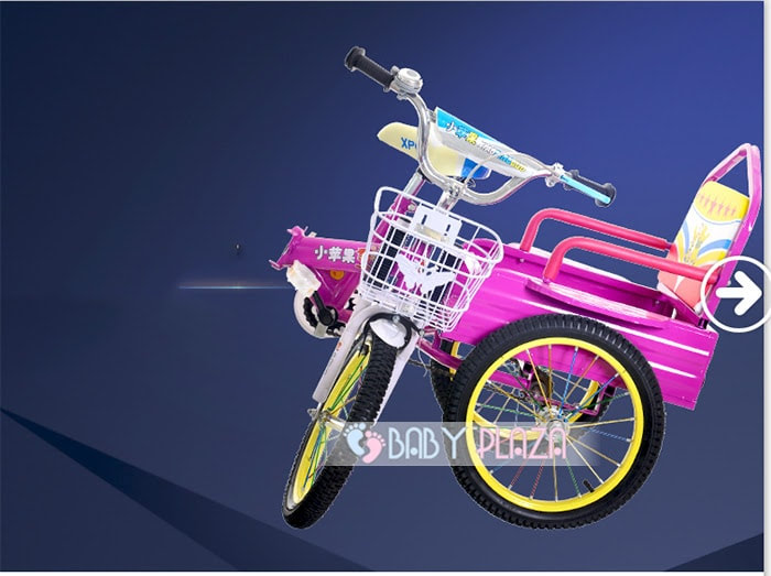 Xe đạp xích lô dành cho bé yêu XL-01 5