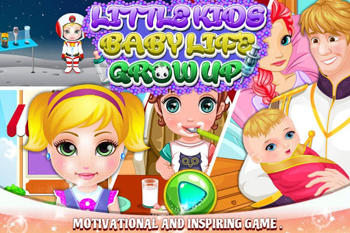 Little Kids Baby Life Grow Ups