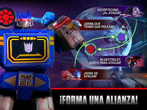 Transformers Earth Wars para Android