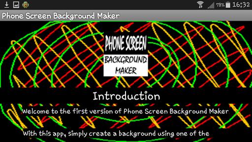 Phone Screen Background Maker