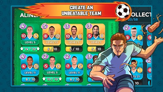 Top Stars Football 1.40.0.0 MOD (Unlimited Money) Apk 2