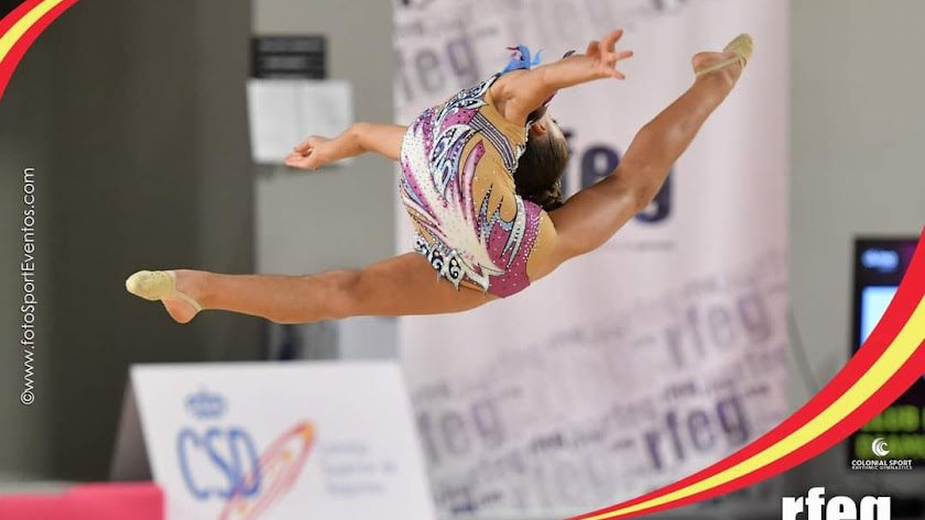Inés Castelló, durante el campeonato.