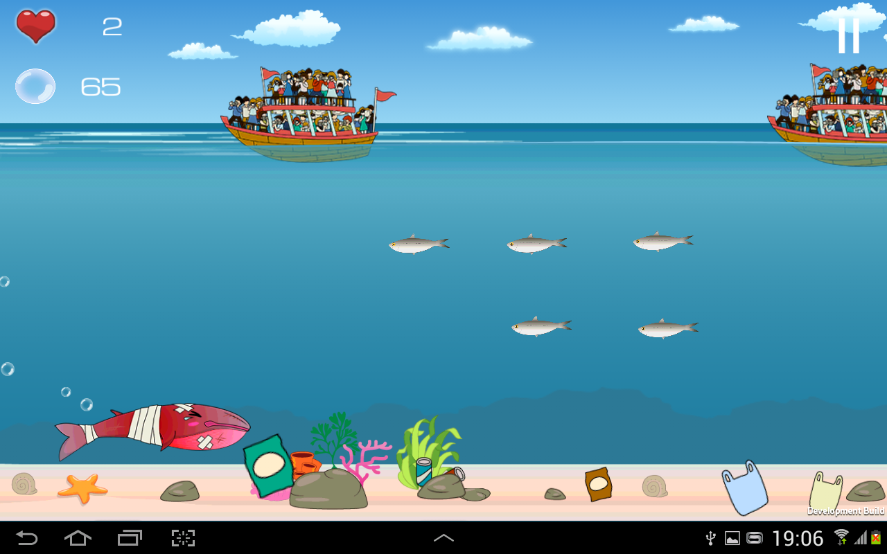 Thai Whales Game 2015(EN)- screenshot