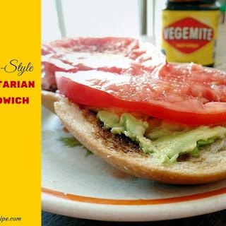 Aussie Style Vegetarian Sandwich