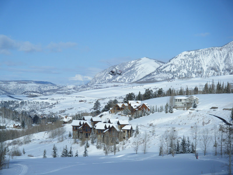 Photo: View from our house in Telluride