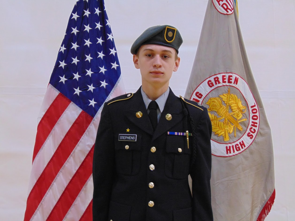 Cadet 2LT Stephens