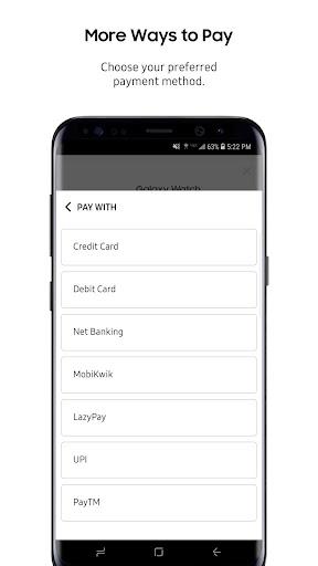 Samsung Shop screenshots 8