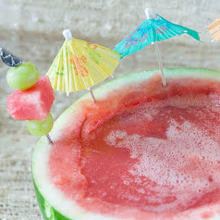 Watermelon Margarita Mocktail.