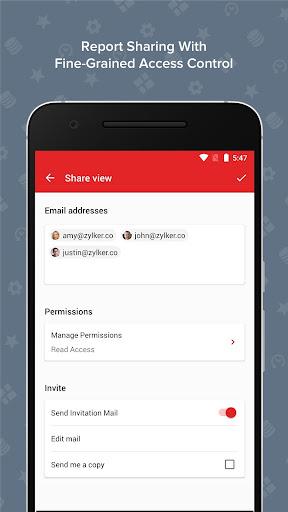 Zoho Analytics – Mobile BI Dashboards screenshot 5