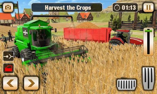 Real Tractor Driver Farm Simulator -Tractor Games 1.0.8 screenshots 3