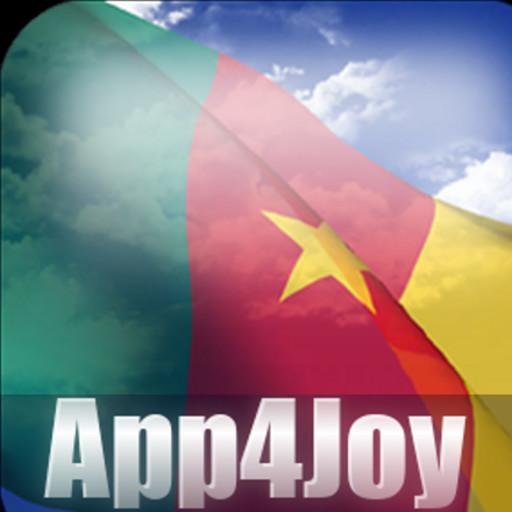 3D Cameroon Flag Live Wallpaper APK