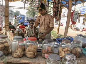 Photo: Chai Stall Near Bhubaneswar India RR Station