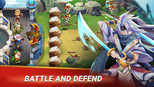 Castle Defender Mod Apk 1.8.3 (Free Skill + Full Unlocked) 5