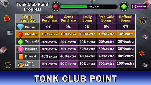 Tonk Online : Multiplayer Card Game screenshots 8