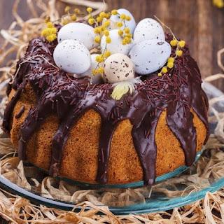 Saffron Easter Cake