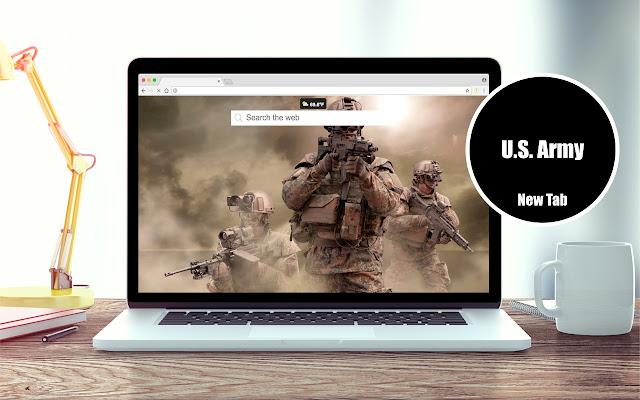 U.S. Army Wallpapers New Tab Theme