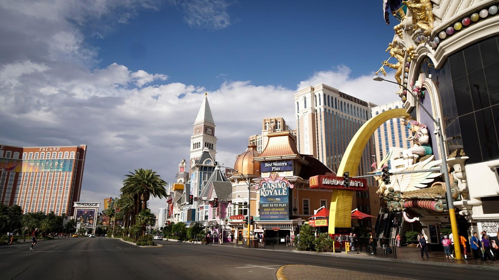 Las Vegas Blue Skies