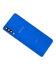 Galaxy A7 2018 Back Cover Blue